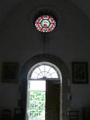 restauration de vitraux, atelier celine le marhadour, vitraux aveyron